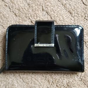 9 West patent leather wallet